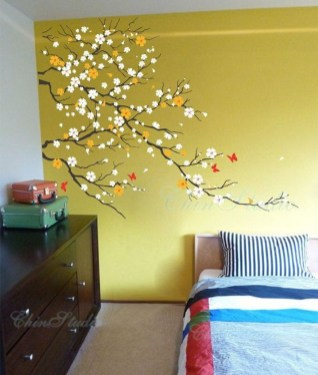 Vintage Bedroom Wall Decals Design Ideas To Try20