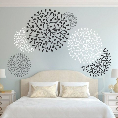 Vintage Bedroom Wall Decals Design Ideas To Try28