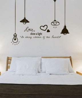 Vintage Bedroom Wall Decals Design Ideas To Try34