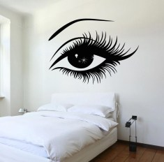 Vintage Bedroom Wall Decals Design Ideas To Try44