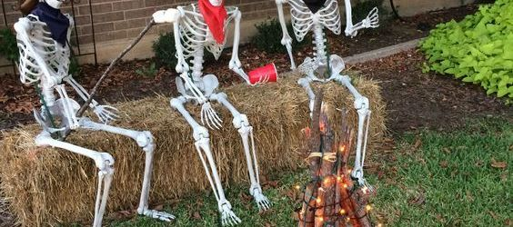 Lovely DIY Halloween Yard Decorations Ideas