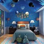 Lovely Space Themed Bedroom Ideas