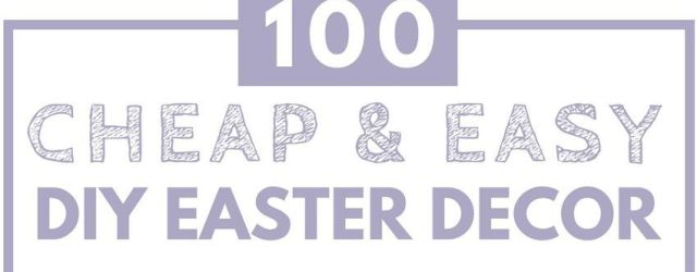 Beautiful Easy DIY Easter Decorations Ideas
