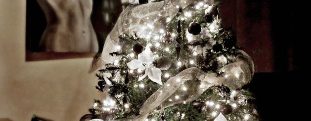 The Best White And Silver Christmas Decorations Ideas