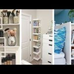 Awesome Bedroom Storage Shelves Ideas