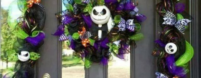 Awesome Nightmare Before Christmas Halloween Decorations Ideas