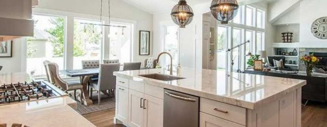 Beautiful Kitchen Island With Sink And Dishwasher Ideas
