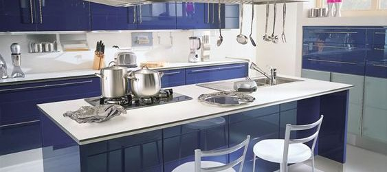 Admirable High Gloss Kitchen Cabinets Ideas