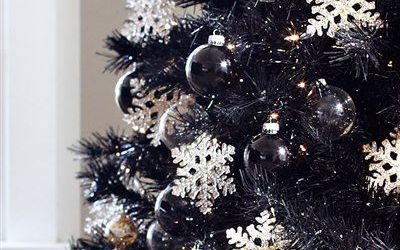 Admirable Black Christmas Tree Ornaments Ideas