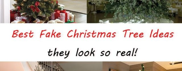 Affordable Best Fake Christmas Tree Ideas