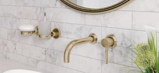 Gorgeous Gold Bathroom Sink Faucet Ideas
