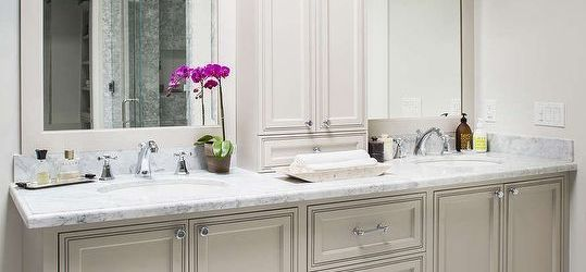 Gorgeous Bathroom Double Sink Countertop Ideas