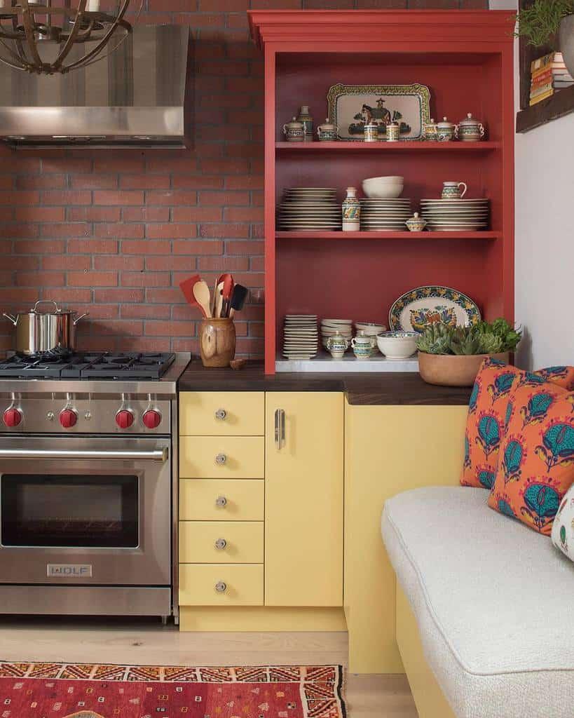 the top 98 kitchen shelf ideas