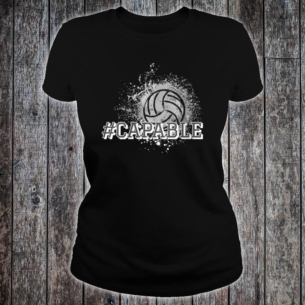 #Capable Volleyball Shirt ladies tee