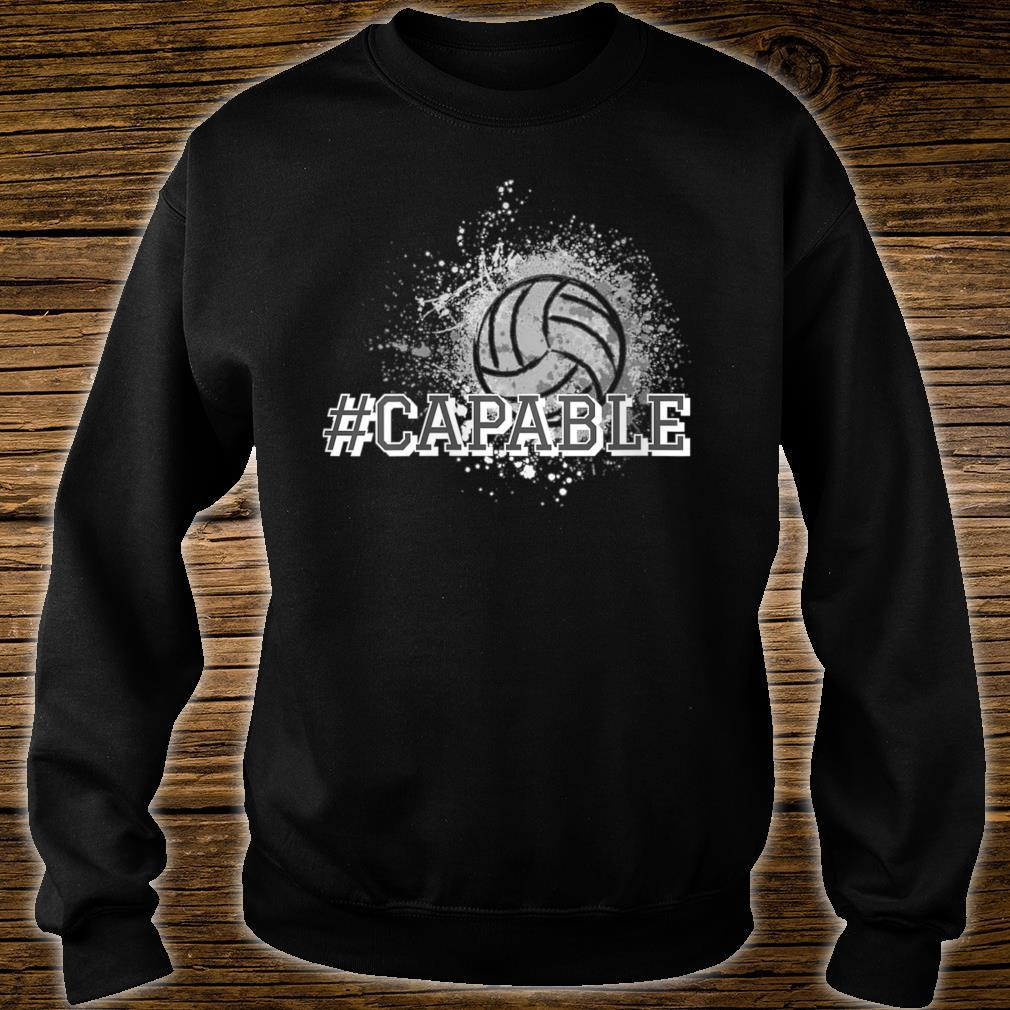 #Capable Volleyball Shirt sweater