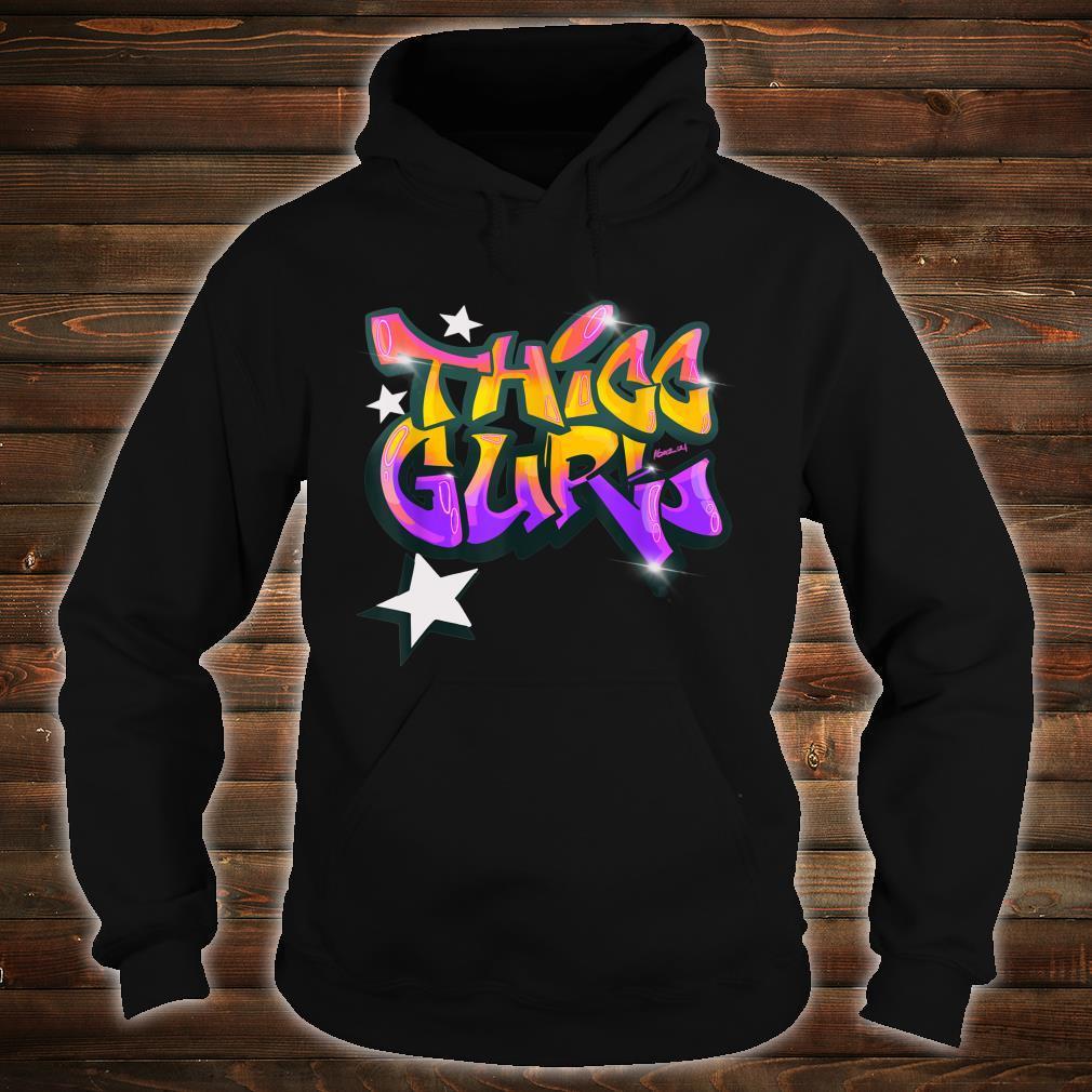 """THICC Gurl GraffitiStyle Urban Streetwear Shirt hoodie"