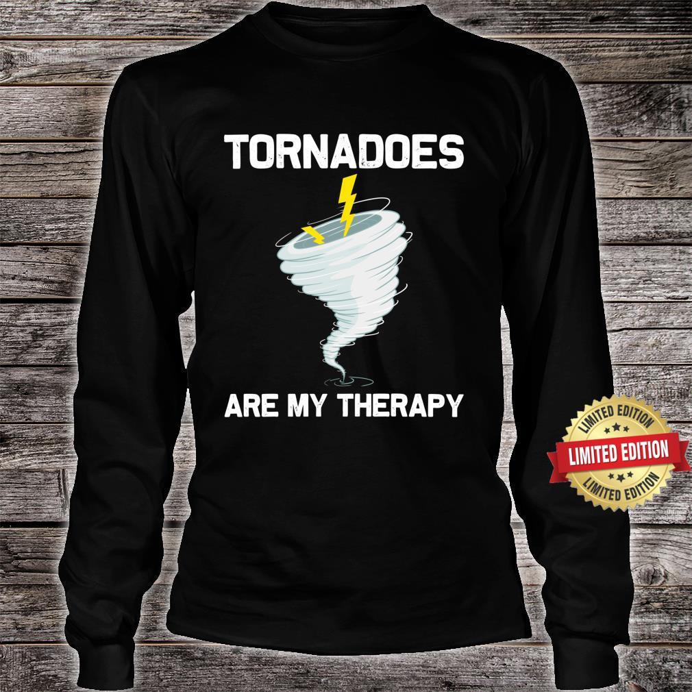Tornado Hurricane Weather Chaser Shirt long sleeved