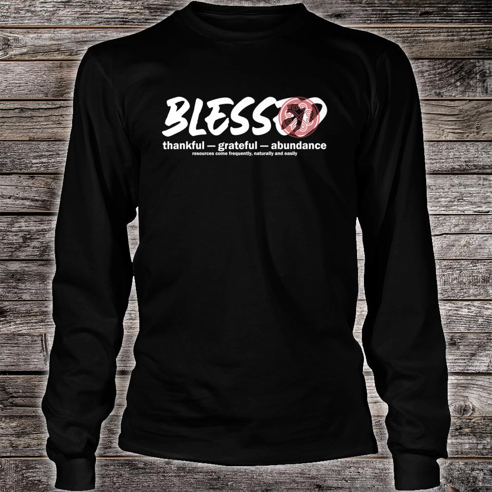Blessed Hmong Shirt long sleeved
