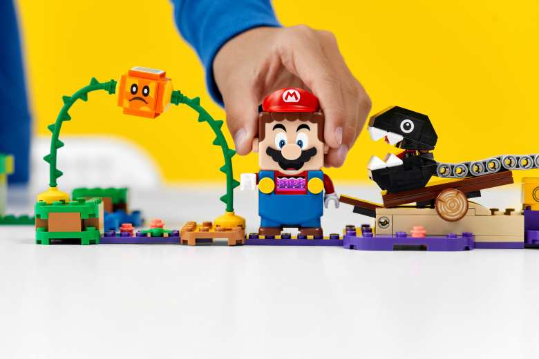 LEGO Super Mario Chain ChompJungle EncounterExpansion Set