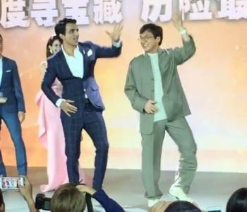 Watch: Jackie Chan Dances To Daler Mehndi's Tunak Tunak Tun