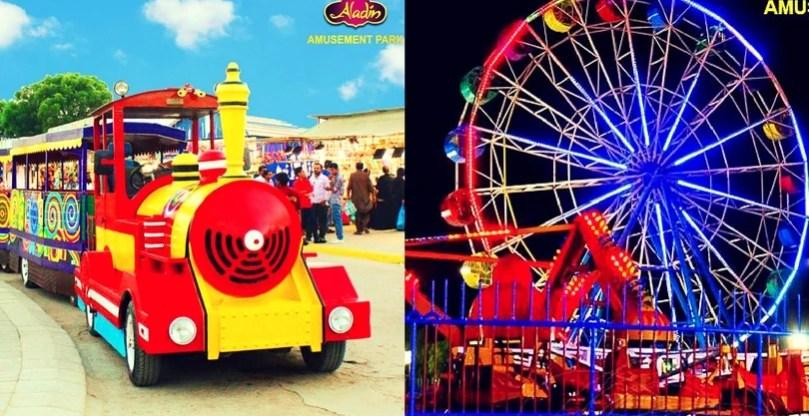 Aladin Park Karachi gets revamped - new and improved rides