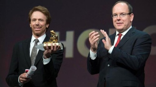 Prince Albert  Jerry Bruckheimer Monte Carlo Television Festival