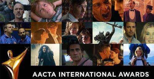 AACTA International Awards 2015 Nominations Logo