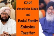 Captain and Badal Family