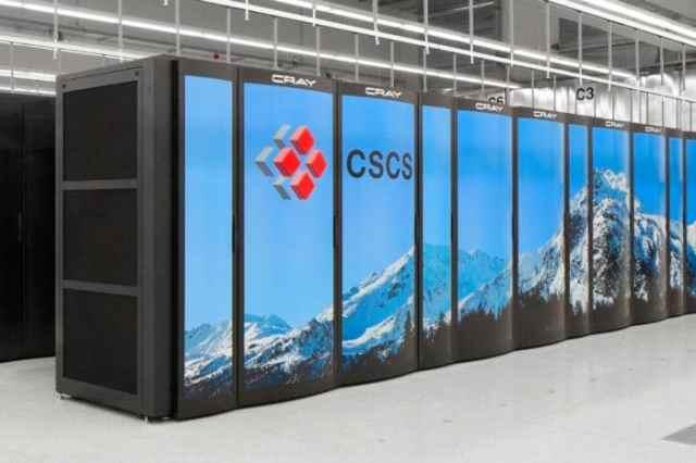 Piz Daint Supercomputer