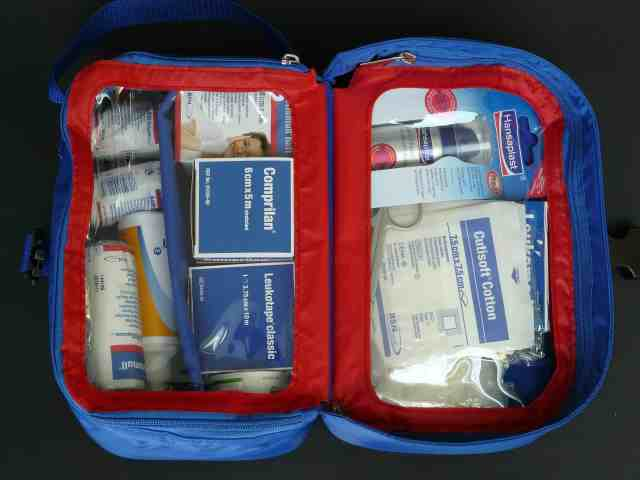 traveler first aid kit