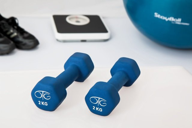 Buy Dumbbells Or Other Such Equipment to lose weight