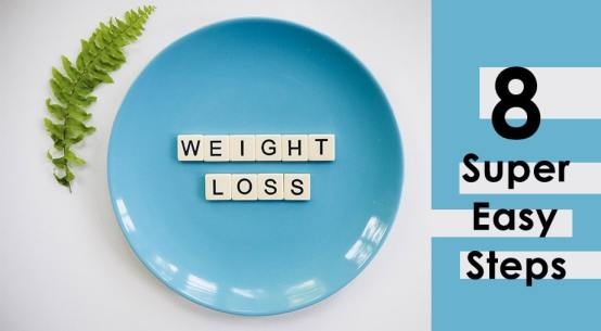 Losing Weight Made Super-Easy in Just 8 Steps-min