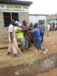 KISUMU MAN CAUGHT CHEATING WITH MARRIED WOMAN CLOSED IN TOILET FOR 24HOURS
