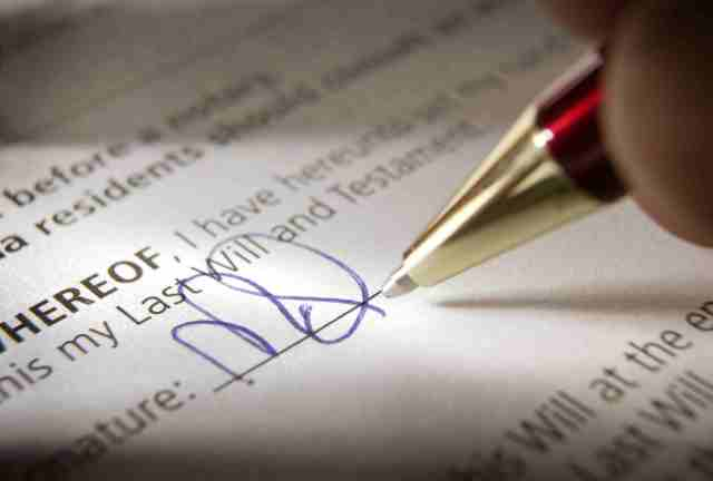 HOW TO WRITE WILL, CANCEL AND ITS COSTS - Trending news