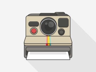 Image of Polaroid Camera