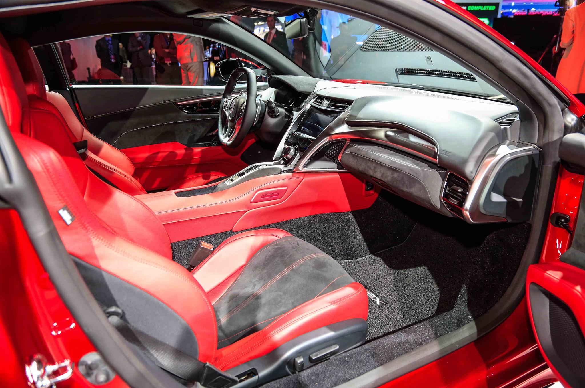 ... 2016 Acura Nsx Interior View 02 ...