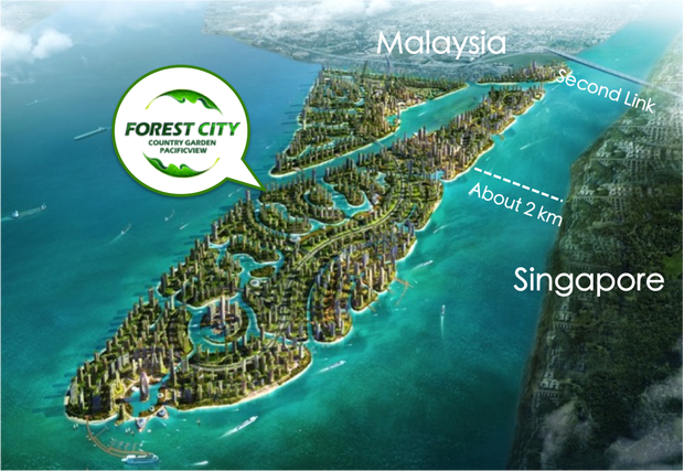 Image result for FOREST CITY & SULTAN JOHOR