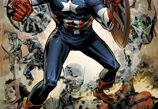 Captain America 600 Reprint