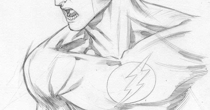 First look at Manapul's Flash art