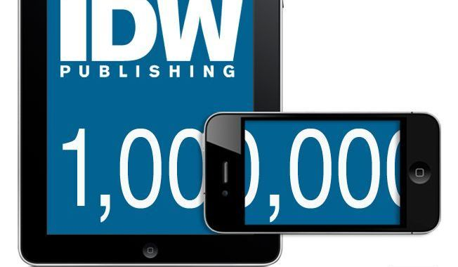 IDW Publishing Delivers Over One Million iPad and iPhone Comic Apps
