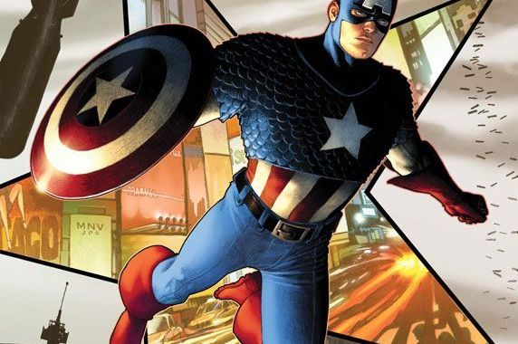 YOUR FIRST LOOK AT CAPTAIN AMERICA #1