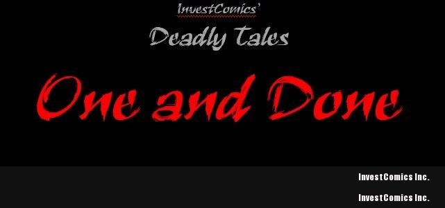 InvestComics' Deadly Tales: One and Done Anthology