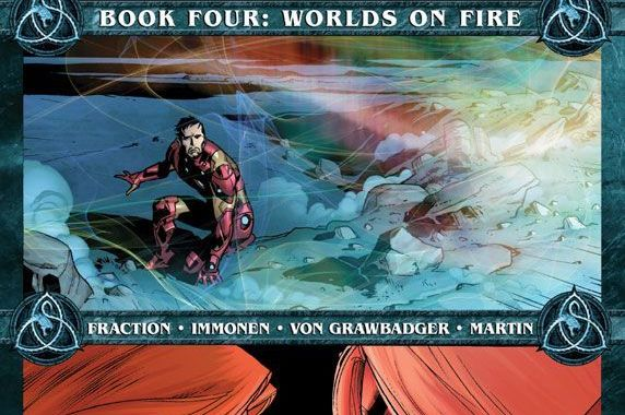 Coming In FEAR ITSELF Book Four: Worlds On Fire