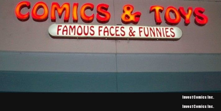 Famous Faces and Funnies and InvestComics Team Up!
