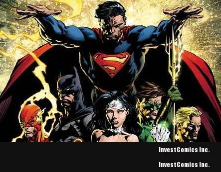 David Finch's variant covers for JUSTICE LEAGUE #1