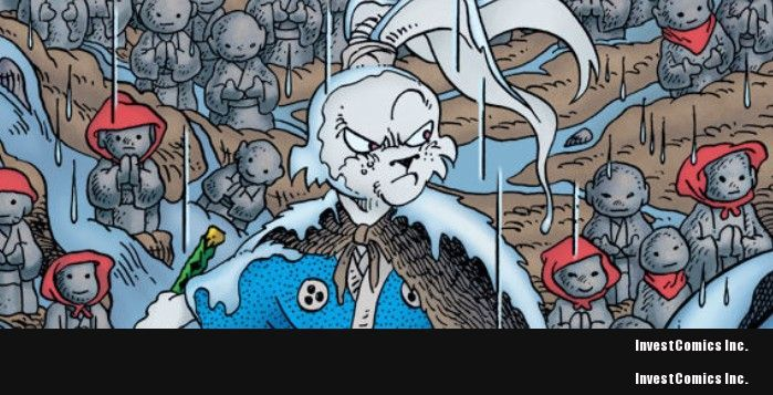 USAGI YOJIMBO REACHES 200TH ISSUE!
