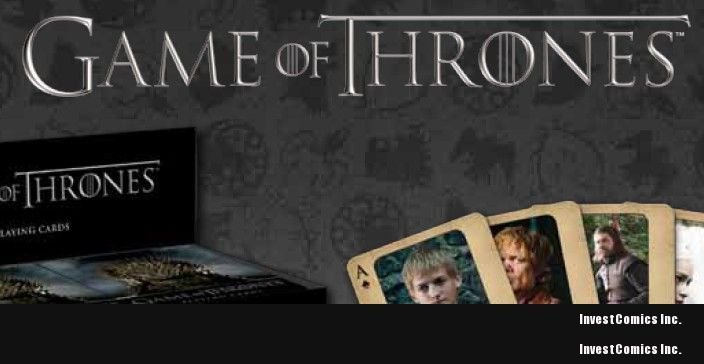 HBO AND DARK HORSE ANNOUNCE GAME OF THRONES PARTNERSHIP!