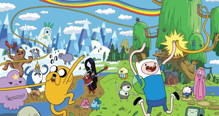 WHAT TIME IS IT?! IT'S ADVENTURE TIME!