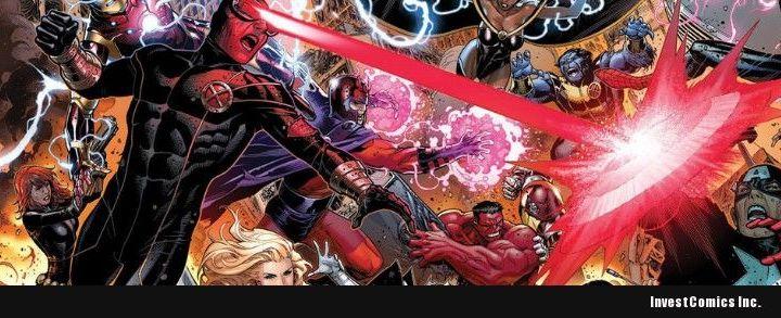 Marvel Announces AVENGERS VS X-MEN