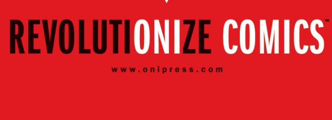 ONI PRESS UNVEILS NEW COMPANY LOGO